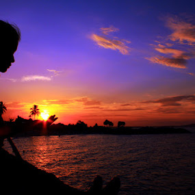 I hope Ican Hold It by Zlatan Dawamovic - Landscapes Sunsets & Sunrises