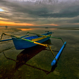 Lazy Boat by Andi Appa - Transportation Boats