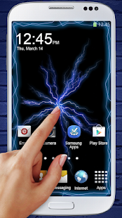 App Electric Screen Live Wallpaper APK for Windows Phone
