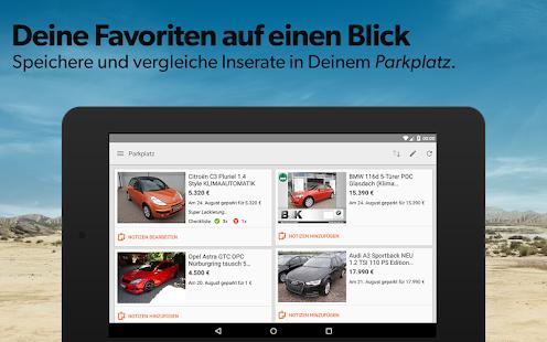 Die Mobile.de App - Gebrauchtwagenkauf per Smartphone
