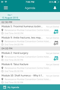 Traumacon 2015 Conference - screenshot