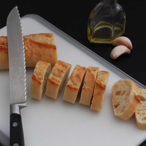 Open-Face Garlic Mayo Chicken Baguettes with Gruyère