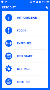 Keto Diet - Low Carb High Fat Fitness app screenshot for Android