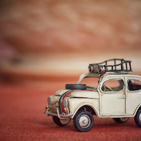 Little Vintage Car by Giannis Paraschou - Artistic Objects Toys ( macro, toyphotography, toy car, vintage car, toys, little car,  )