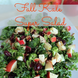 Fall Kale Super Salad