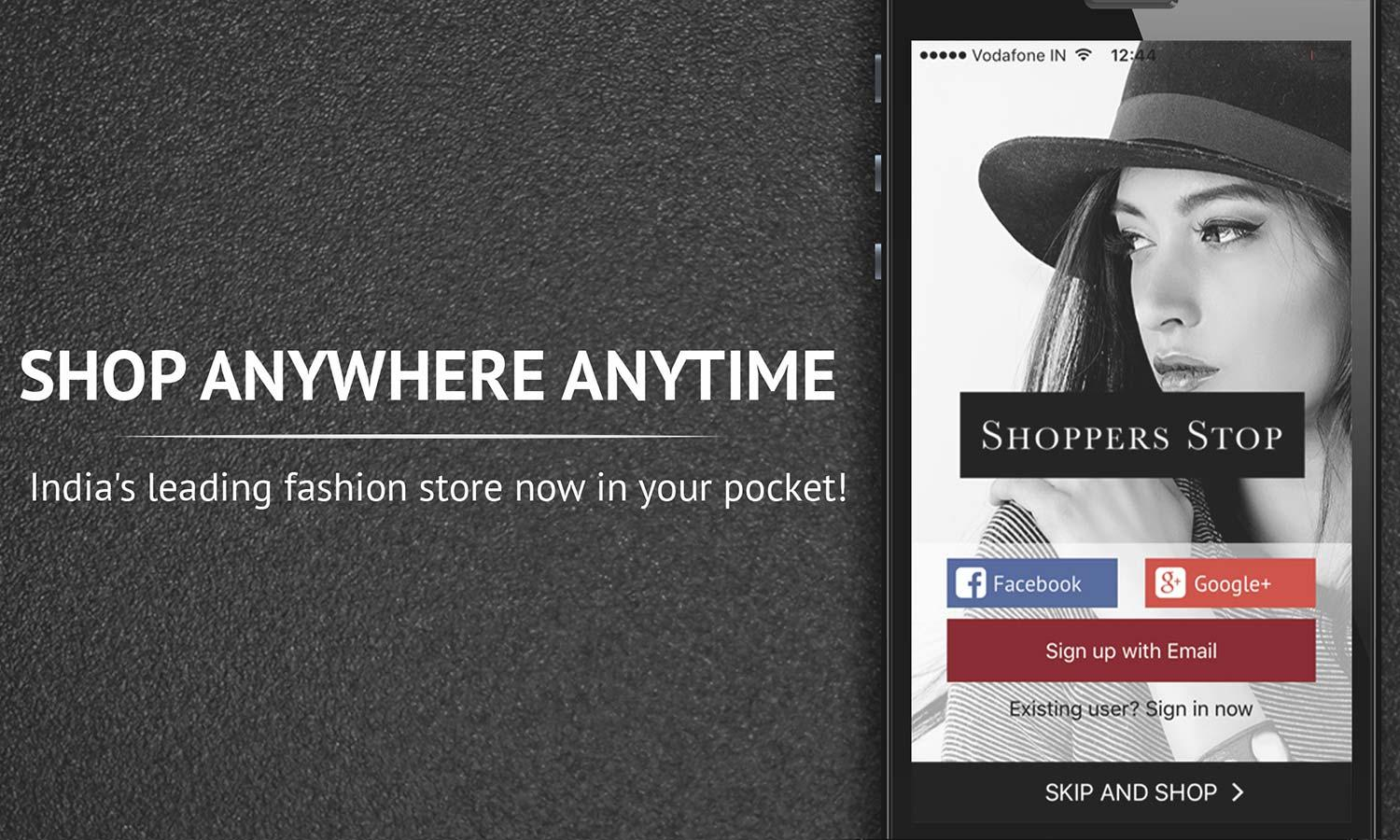 Shoppers Stop: Shopping App Screenshot 0