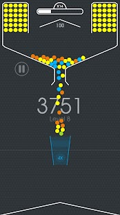 100 Balls  Tap to Drop the Color Ball Game PC