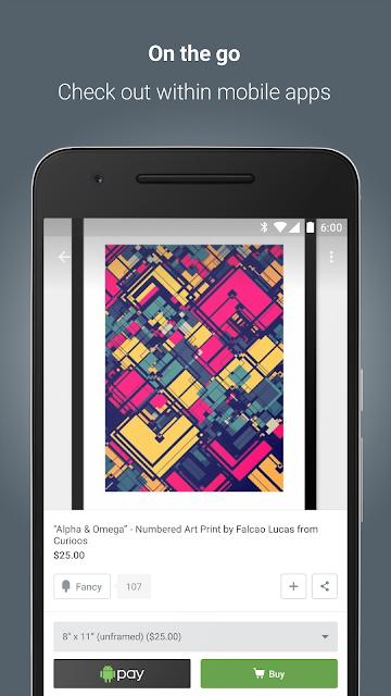 Android Pay screenshots