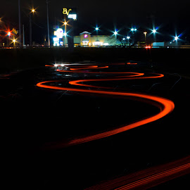 by Aires Spaethe - Abstract Light Painting
