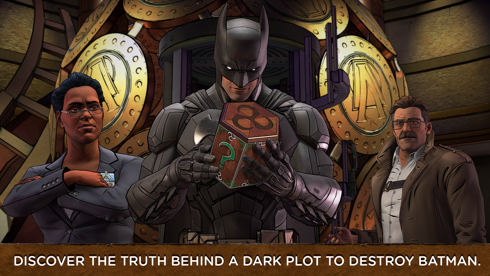 Batman: The Enemy Within Screenshot 4