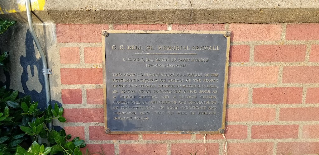 C.C. Bell, Sr. Mayor of West Monroe1922-1924, 1926-1938This Seawall stands today as a result of the determined efforts on behalf of the people of the City of West Monroe by Mayor C. C. Bell, Sr. ...