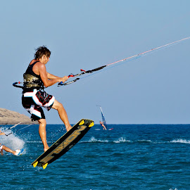 KS4 by Leon Reeve - Sports & Fitness Surfing ( watersports, kite surfing, surfing, rhodes, prasonisi )
