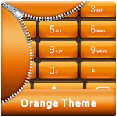 App Orange Dialer Theme APK for Kindle