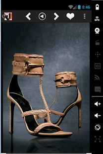 Latest trends shoes & sandals - screenshot