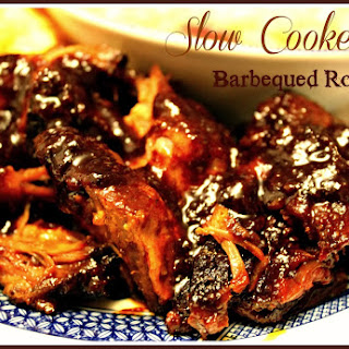 Slow Cooker Barbequed Roast!