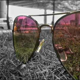 Through Mirror  by Rajesh Mondal - Instagram & Mobile Android ( mobilography, sunglasses )