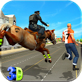Police Horse Crime City Chase APK for Ubuntu