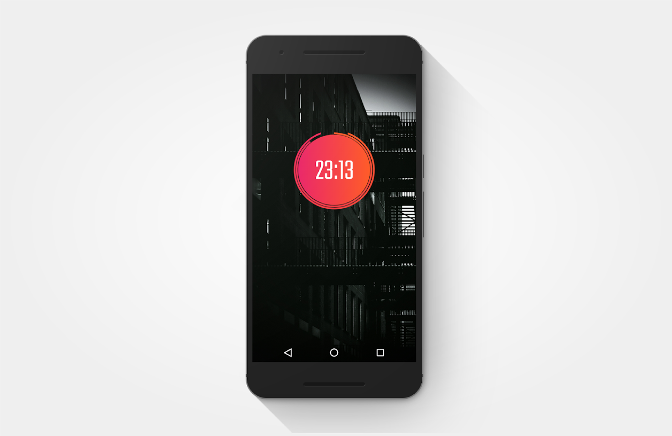 Gradient Zooper Theme Screenshot 4