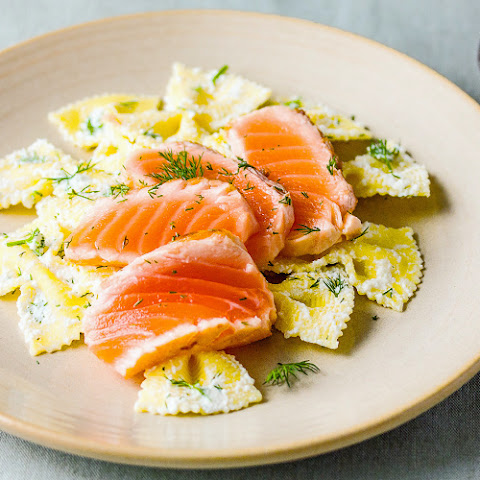 Salmon And Lemon-ricotta Pasta