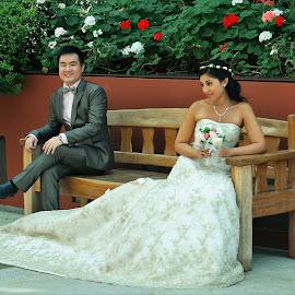 Wedding Couple by Koh Chip Whye - Wedding Bride & Groom