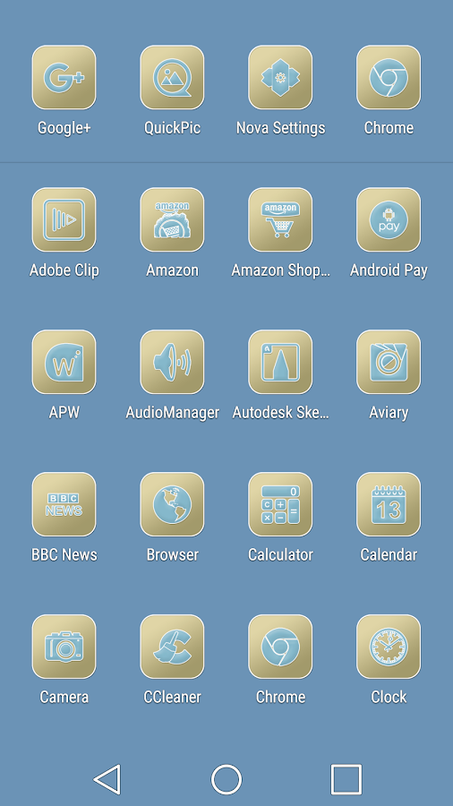 Pastel Collection 6 Icon Pack Screenshot 3