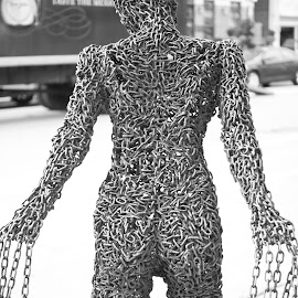 Iron Lady 2 by Di Colavita - Artistic Objects Other Objects ( sculptures, iron sculpture, metal design, artistic nude, artistic objects )