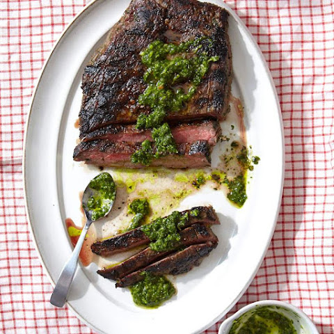 Argentinian Flank Steak with Homemade Chimichurri