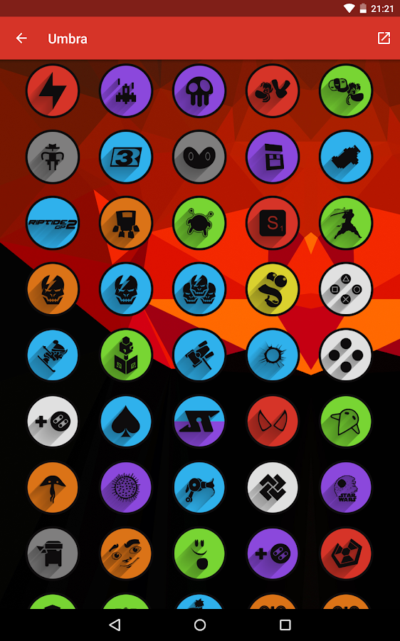Umbra - Icon Pack Screenshot 13