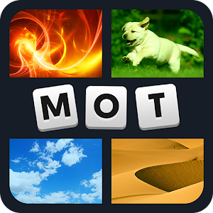4 images that have one word in common - which one? APK Icon
