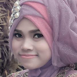 hijab by Bramantya Wardana - People Portraits of Women