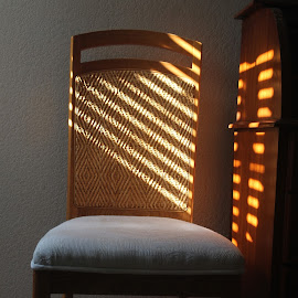 Sunlight on Chair by Mike Logan - Artistic Objects Furniture ( chair, sunlight )