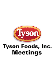 Tyson Foods Meetings App - screenshot