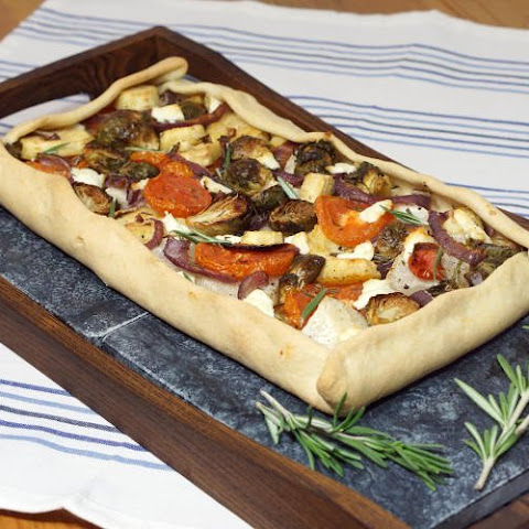 Rustic Winter Vegetable Tarte Provencale