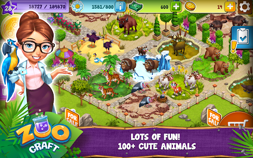Game ZooCraft APK for Kindle