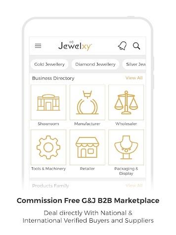 Jewelxy.com - B2B Gems & Jewellery Marketplace App Screenshot