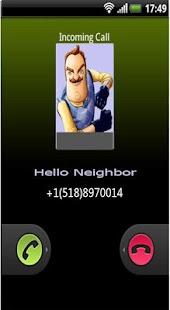 Anruf von hallo Nachbar android spiele download