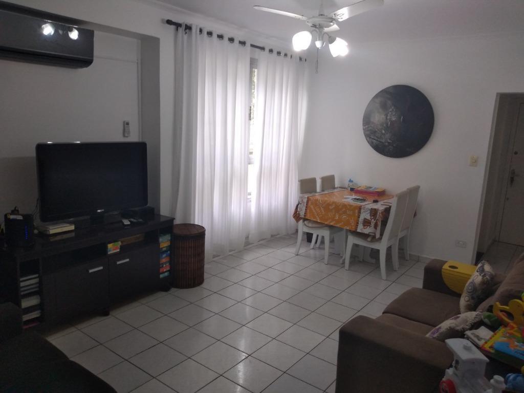 Apartamento com 1 dormitório à venda, 58 m² por R$ 241.000,00 - Itararé - São Vicente/SP