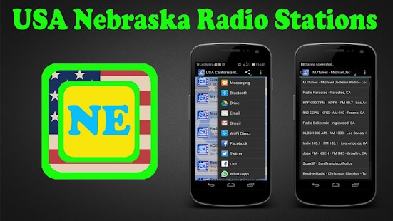 USA Nebraska Radio Stations - screenshot