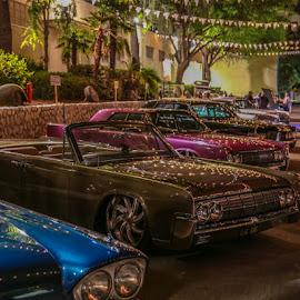 Twilight Car Show by Leah N - Transportation Automobiles