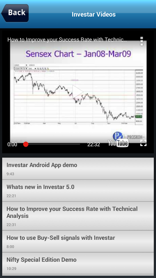 Investar: Indian Stock Market Screenshot 6