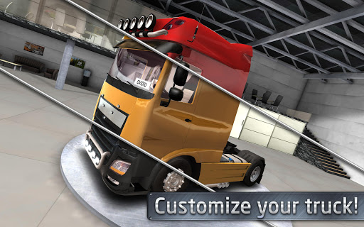 Euro Truck Driver (Simulator) screenshot 17