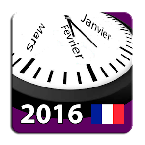 Calendrier 2016 France AdFree