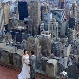 I Do by Prottay Adhikari - People Couples ( wedding, cityscape, new york )