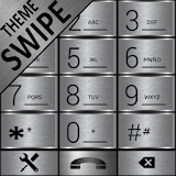 THEME SWIPE DIALER SILVER METAL file APK Free for PC, smart TV Download