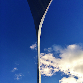 Up The Arch II  3885 by Jim Suter - Buildings & Architecture Statues & Monuments