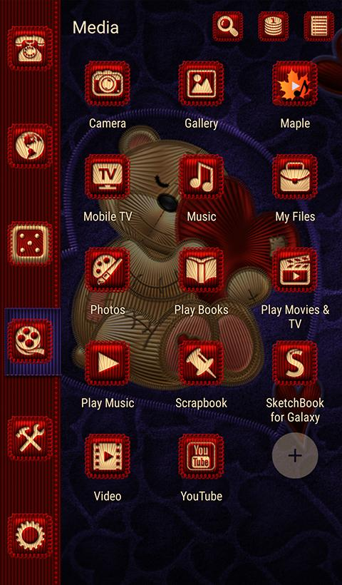 TSF NEXT TEDDY BEAR THEME Screenshot 5