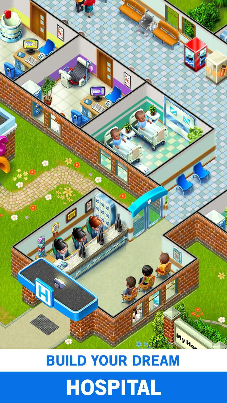My Hospital: Build and Manage Screenshot 0