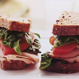Garden Turkey Sandwich with Lemon Mayo