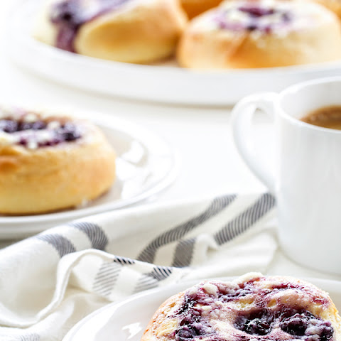 Blueberry Cream Cheese Kolaches