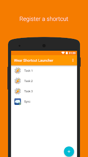 Wear Shortcut Launcher